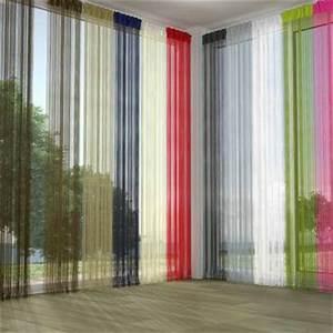Fil Tringle Rideau : rideau fil dans voilage achetez au meilleur prix avec ~ Premium-room.com Idées de Décoration