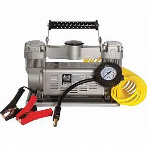 Masterflow 12 Volt 120 Psi Twin Cylinder Air Compressor