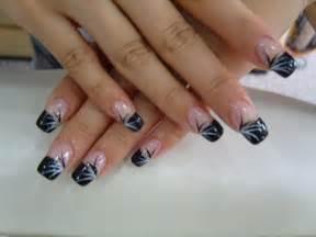 Black nail art designs nailspedia