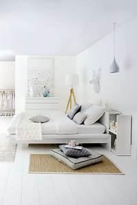 Tete De Lit Avec Rangement Integre : 20 t tes de lit pour votre chambre c t maison ~ Teatrodelosmanantiales.com Idées de Décoration