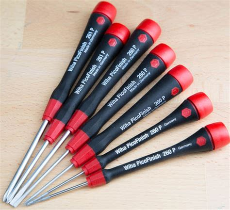 precision wiha screwdrivers screwdriver picofinish torx hex arrived mail toolguyd