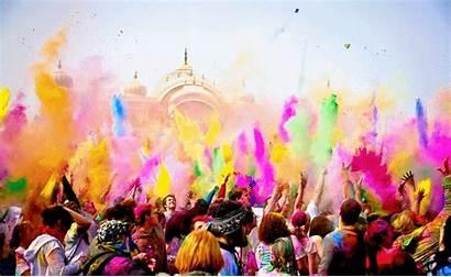 Holi Festival Cores Das