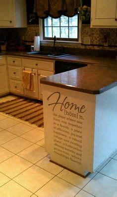 how to construct kitchen cabinets door with chalkboard to hide side of refrigerator 7224