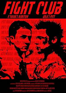 Fight Club Film Poster on Behance