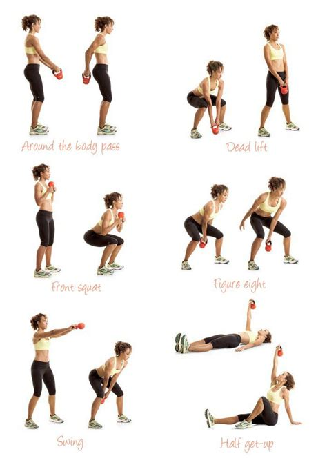 exercises kettlebell workout workouts kettle kettlebells easy exercise arm arms ass oefeningen beginner bell con simple routines thuis fitness beginners