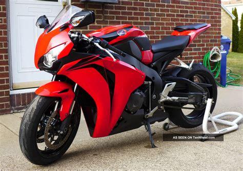 2008 Honda Cbr1000rr Red / Black