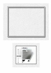 Bilderrahmen 50 X 40 : silberfarbener aluminium bilderrahmen 40 x 50 cm von schipper 605230770 kaufen bei kreativ ~ Yasmunasinghe.com Haus und Dekorationen