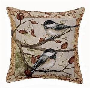 decorative pillows discount autumn chickadee decorative With cheap fall throw pillows