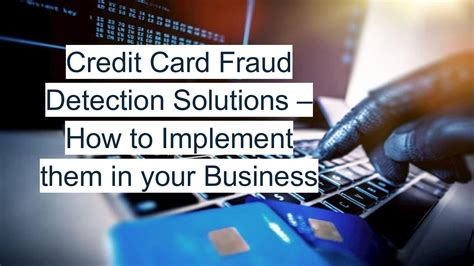 Maybe you would like to learn more about one of these? Calaméo - Credit Card Fraud Detection Solutions - How To Implement Them In Your Business