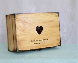 letter boxes wood letters and memories box on pinterest With keepsake letter box