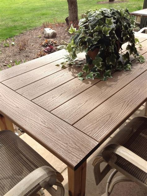 Outdoor Deck Table by Kregjig Project Outdoor Table By Flynn Top Made