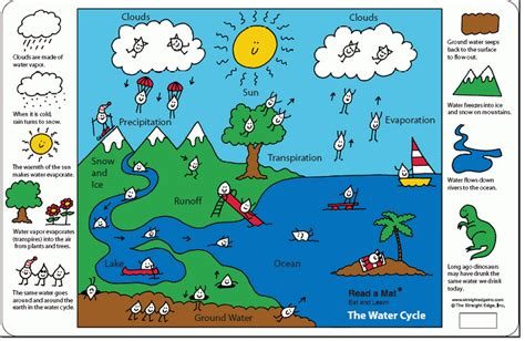 grade  water cycle ms sylvesters science page