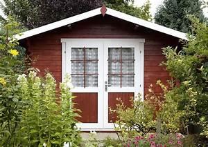 Farbe Für Gartenhaus : gartenhaus schwedenhaus in schwedenrot ~ Watch28wear.com Haus und Dekorationen