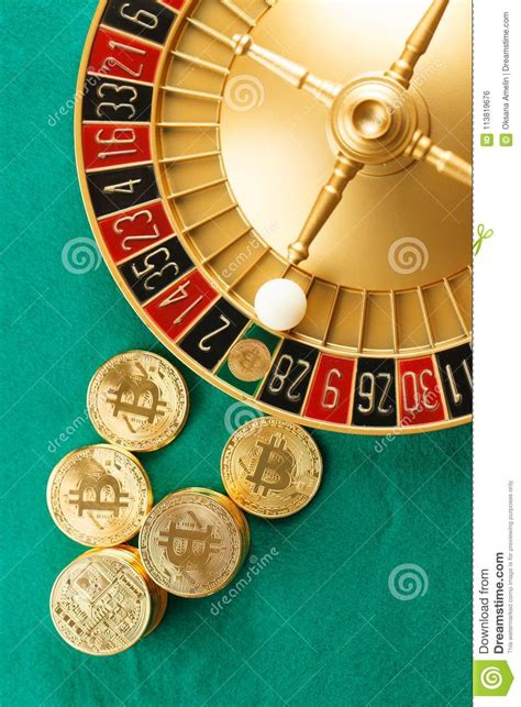 There is no doubt that the introduction of cryptocurrency in the online gambling industry has revolutionised the way we gamble. Roulette Casino With Bitcoins Stock Photo - Image of banking, editorial: 113819676