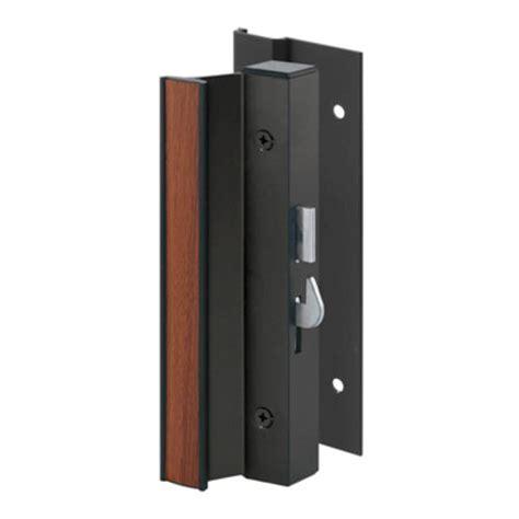 Patio Door Handle Menards by Prime Line 2 1 8 Quot X 4 15 16 Quot Black Aluminum Sliding Door