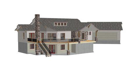hillside cabin plans h187 custom country hillside house plans construction