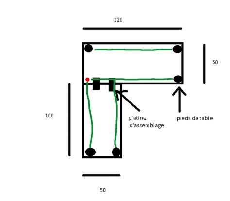 debutant aide pour fabriquer bureau d angle