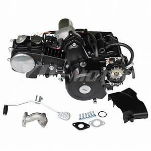New 125cc Engine Fully Auto W  Reverse Motor For 70cc 90cc