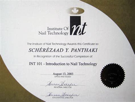 scherezaads paaws  claaws certificates