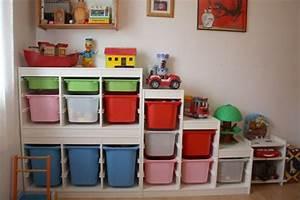 Rangement Chambre Enfant Ikea : bye bye bazarland rangement jouets enfants trofast ~ Teatrodelosmanantiales.com Idées de Décoration