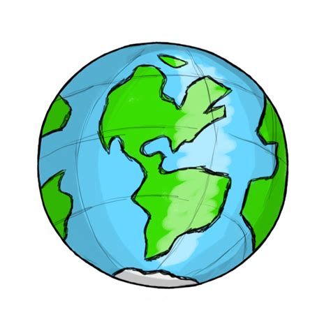 cartoon transparent transparent animated globe clipart best