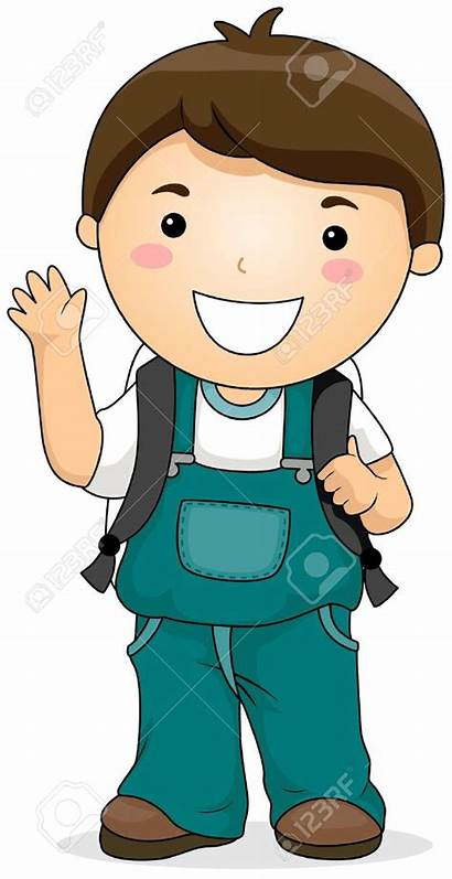 Student Boy Clipart Students Clip Child Kid