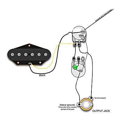 Single Pickup Guitar Wiring Diagram Good For Small