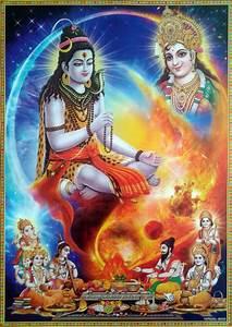 Lord Shiva Durga Parvati Pooja Hawan by Brahma Vishnu ...