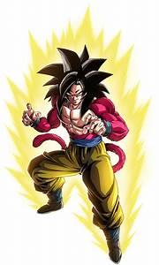 Goku, Ssj4, Render, 2, Dokkan, Battle, By, Maxiuchiha22, On