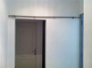 Comment Monter Une Porte Coulissante : aide la pose d 39 une porte coulissante ~ Melissatoandfro.com Idées de Décoration