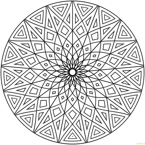 design coloring pages geometric designs coloring page free coloring pages