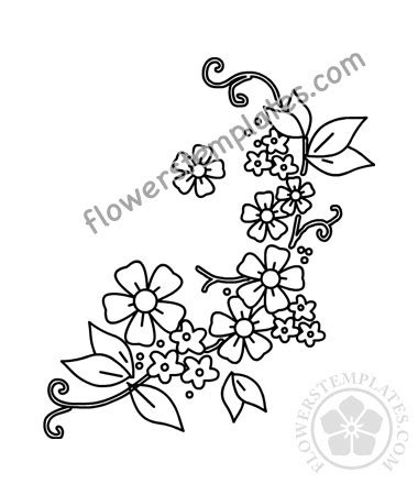 See more ideas about embroidery patterns, embroidery, embroidery designs. Embroidery Flowers design pattern printable   Flowers ...