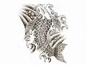 Koi Tattoo Vorlagen : pin japanische zeichen drachen tattoos bedeutung tattoo bilder on ich liebe wasser ~ Frokenaadalensverden.com Haus und Dekorationen