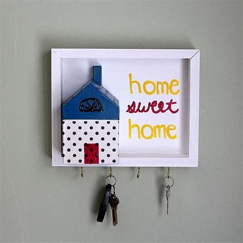 home sweet home key holder project  decoart