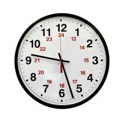 24 Hour Time Clock