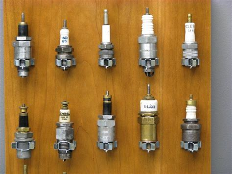 spark plugs yesterdays