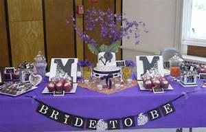 Bridal Shower Dessert Table - CakeCentral com