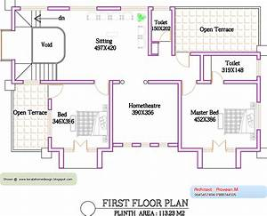 Kerala Home plan and elevation 2800 Sq Ft