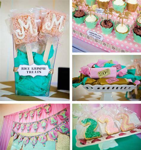 karas party ideas carousel cupcake themed birthday party