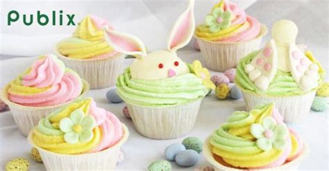 At publix, we care about our customers' strive to eat well. Publix: Complete Easter Dinner, Under $35! | Easter bunny cupcakes, Easter cakes, Easter ...