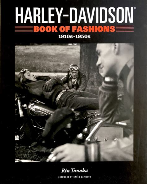 Book Harley Davidson by Harley Davidson Book Of Fashions The Vintagent