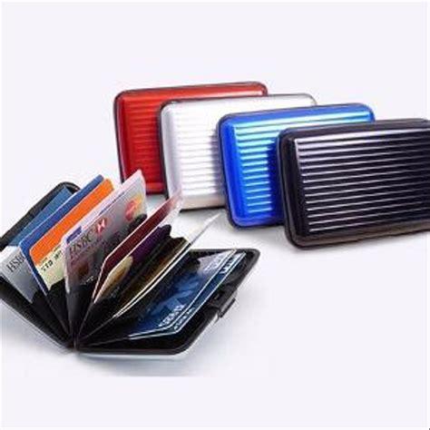 jual terbaru dompet kartu aluminium tempat kartu kredit