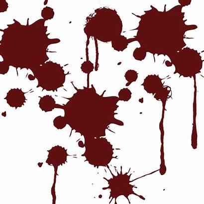 Blood Splatter Transparent Clipart Anime Drip Bloody