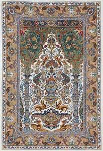 tapis persan de reflets de soie grilles point de croix With tapis persan soie