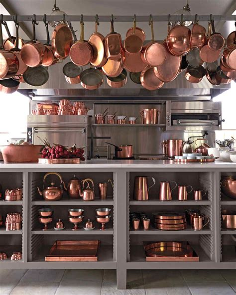 martha   art  collecting copper cookware copper home accessories rose gold kitchen