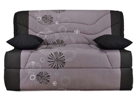 housse de canapé bz conforama housse pour bz prima 140 cm prima maori coloris gris