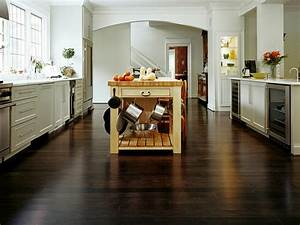 an easy guide to kitchen flooring With dark bamboo flooring pictures