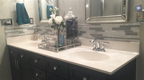 Master Bathroom Decorating Ideas & Tour On A Budget|home
