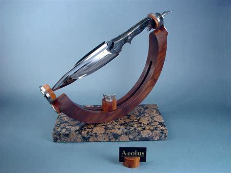 aeolus fine handmade custom art knife  jay fisher