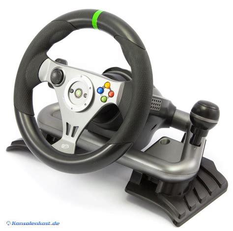xbox 360 lenkrad xbox 360 lenkrad racing steering wheel wireless mit pedale schwarz konsolenkost